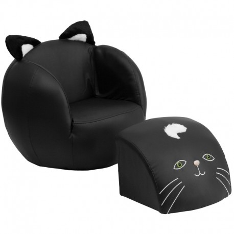MFO Kids Cat Chair and Footstool