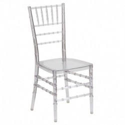 MFO Friendly Elegance Crystal Ice Stacking Chiavari Chair
