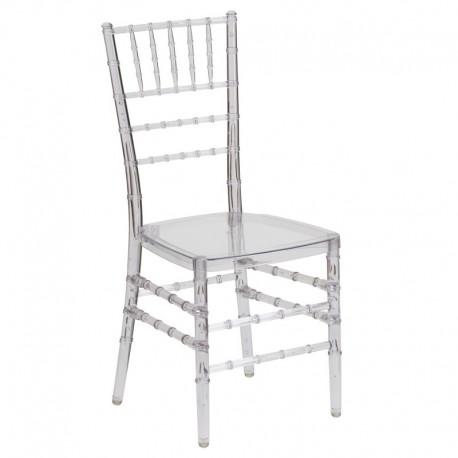 MFO Friendly Elegance Crystal Ice Stacking Chiavari Chair