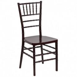 MFO Mahogany Resin Stacking Chiavari Chair