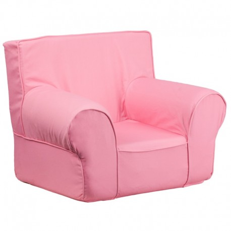 MFO Small Solid Light Pink Kids Chair