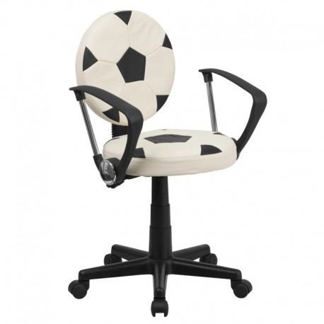 MFO Soccer Task Chair with Arms