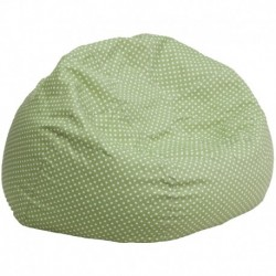 MFO Oversized Green Dot Bean Bag Chair