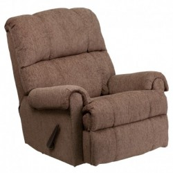 MFO Contemporary Tahoe Bark Chenille Rocker Recliner