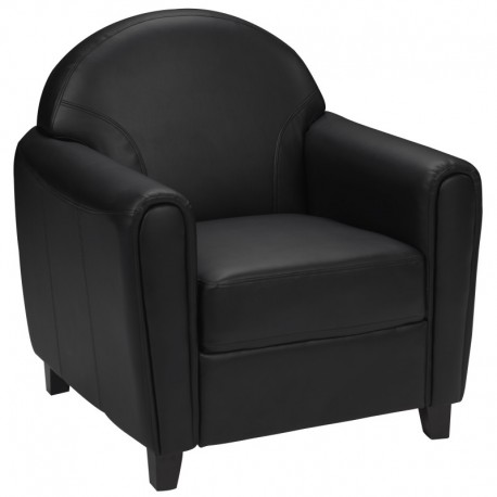 MFO Presidential Collection Black Leather Chair