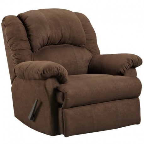 MFO Aruba Chocolate Microfiber Rocker Recliner