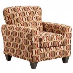 MFO Lunar Cinnamon Accent Chair