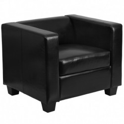 MFO Comfort Collection Black Leather Chair