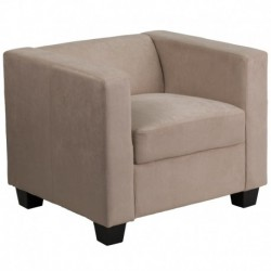 MFO Comfort Collection Light Brown Microfiber Chair