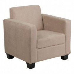 MFO Primo Collection Light Brown Microfiber Chair