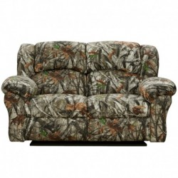 MFO Next Camouflage Fabric Reclining Loveseat