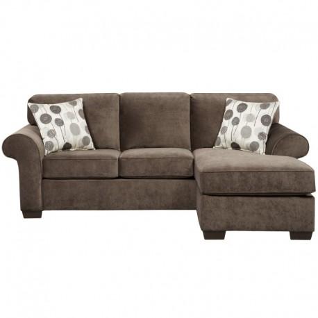 MFO Elizabeth Ash Microfiber Sofa Chaise