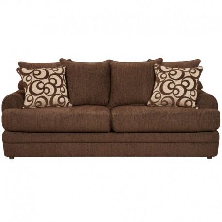 MFO Caliber Walnut Chenille Sofa