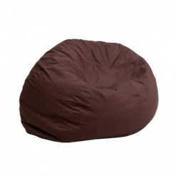 MFO Small Solid Brown Kids Bean Bag Chair