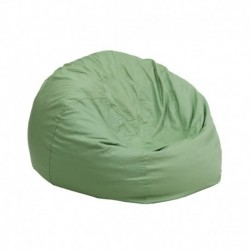 MFO Small Solid Green Kids Bean Bag Chair