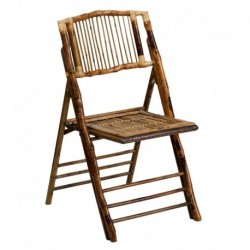 MFO American Champion Bamboo Folding Chair