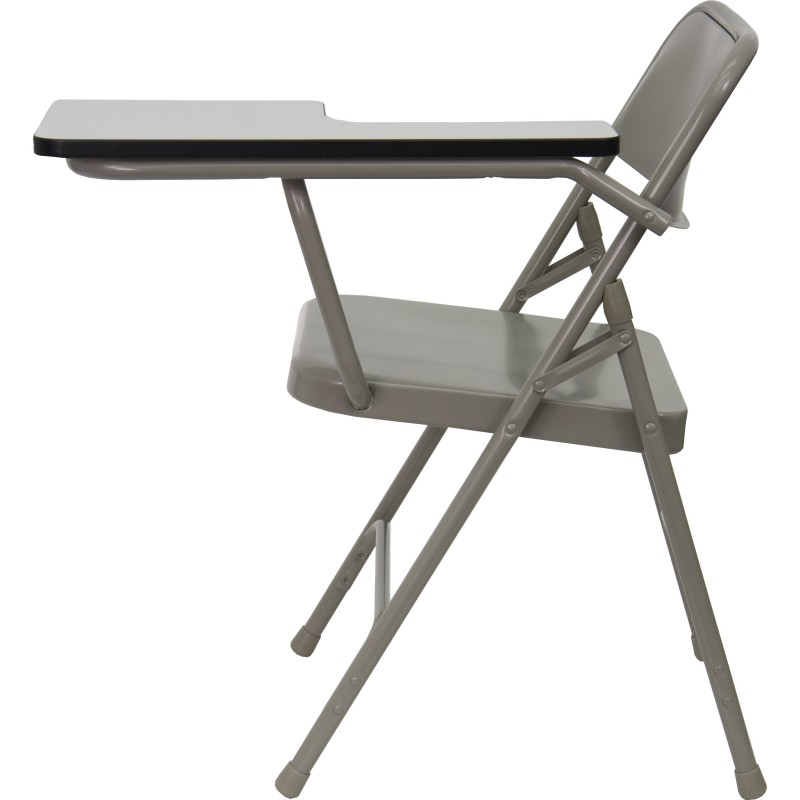 Brilliant Mfo Premium Steel Folding Chair With Left Handed Tablet Arm Pdpeps Interior Chair Design Pdpepsorg