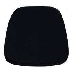 MFO Soft Black Fabric Chiavari Chair Cushion