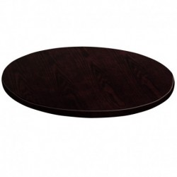 MFO 60'' Round Walnut Veneer Table Top
