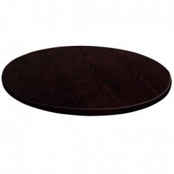 MFO 60'' Round Walnut Veneer Table Top