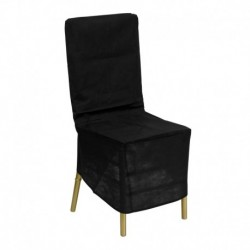 MFO Black Fabric Chiavari Chair Storage Cover