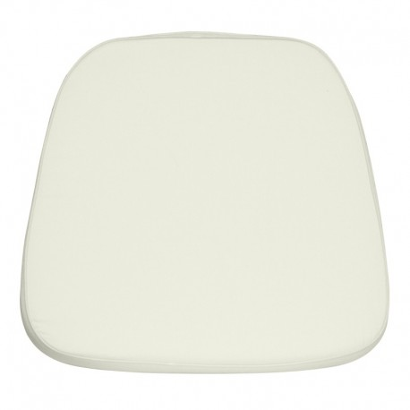 MFO Soft Ivory Fabric Chiavari Chair Cushion