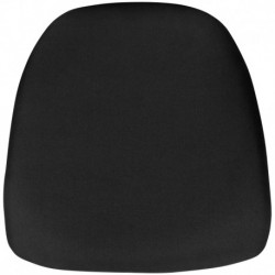 MFO Hard Black Fabric Chiavari Chair Cushion