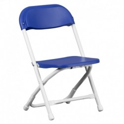 MFO Kids Blue Plastic Folding Chair