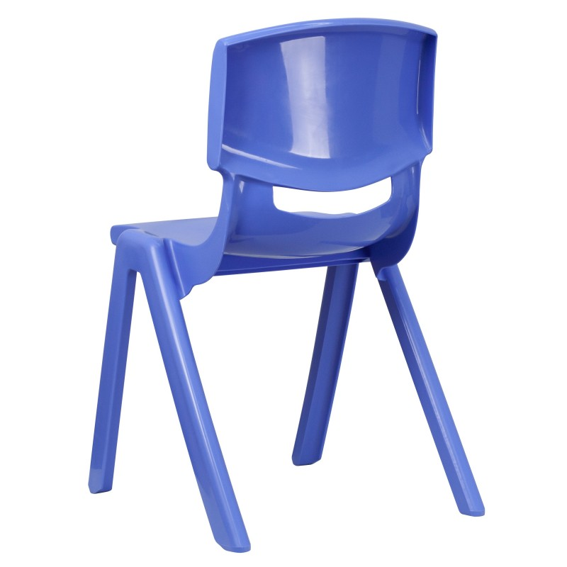 MFO Blue Plastic Stackable School Chair With 18 39 39 Seat Height