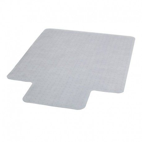 MFO 45'' x 53'' Carpet Chairmat with Lip
