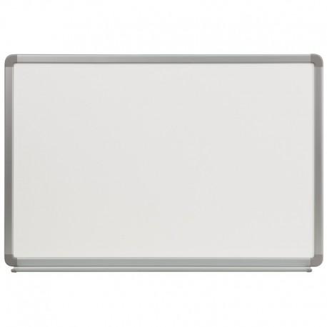 MFO 3' W x 2' H Porcelain Magnetic Marker Board