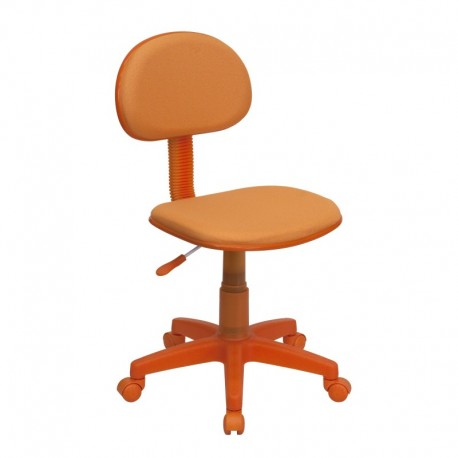 MFO Orange Fabric Ergonomic Task Chair
