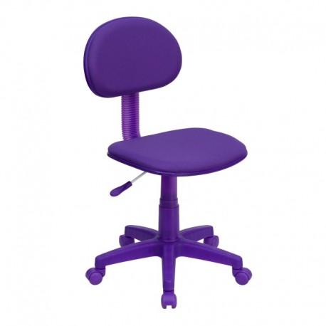 MFO Purple Fabric Ergonomic Task Chair