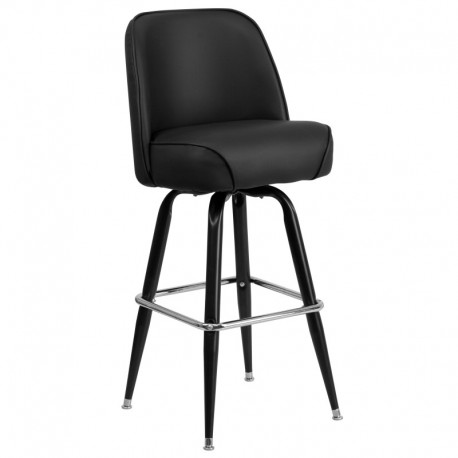 MFO Metal Bar Stool with Swivel Bucket Seat