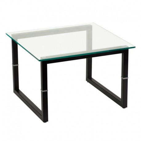 MFO Glass End Table