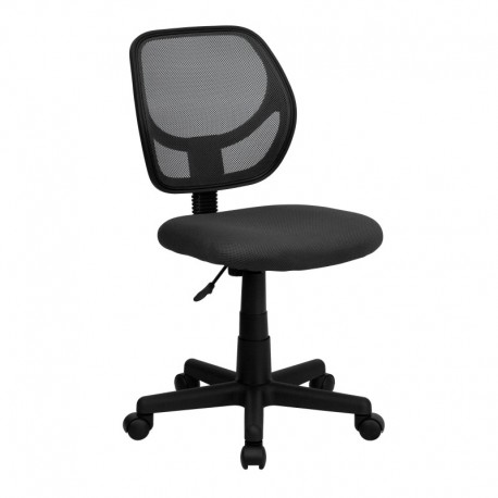 MFO Mid-Back Gray Mesh Task Chair and Computer Chair