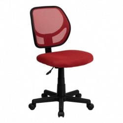 MFO Mid-Back Red Mesh Task Chair and Computer Chair