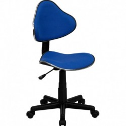 MFO Blue Fabric Ergonomic Task Chair