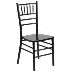 MFO Black Wood Chiavari Chair