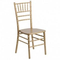 MFO Gold Wood Chiavari Chair