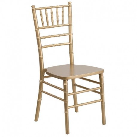 MFO Gold Wood Chiavari Chair