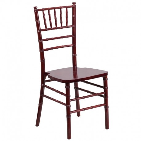 MFO Mahogany Wood Chiavari Chair