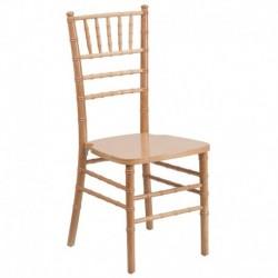 MFO Natural Wood Chiavari Chair