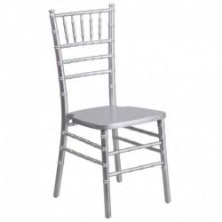 MFO Silver Wood Chiavari Chair