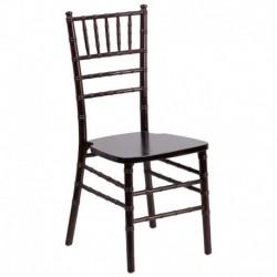 MFO Walnut Wood Chiavari Chair