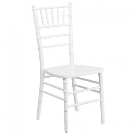 MFO White Wood Chiavari Chair