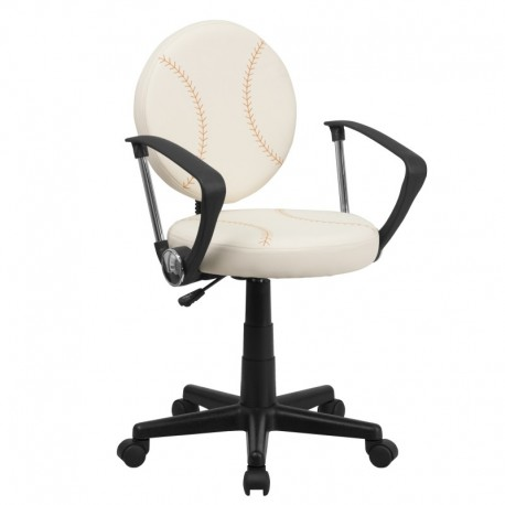 MFO Baseball Task Chair with Arms