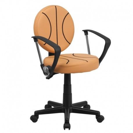 MFO Basketball Task Chair with Arms