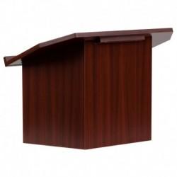 MFO Foldable Mahogany Tabletop Lectern