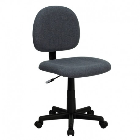MFO Mid-Back Ergonomic Gray Fabric Task Chair
